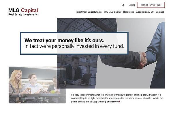 MLG Capital Website