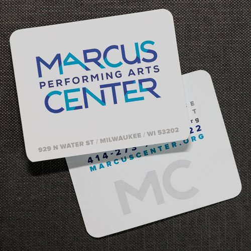 Marcus Performing Arts Center Rebranding